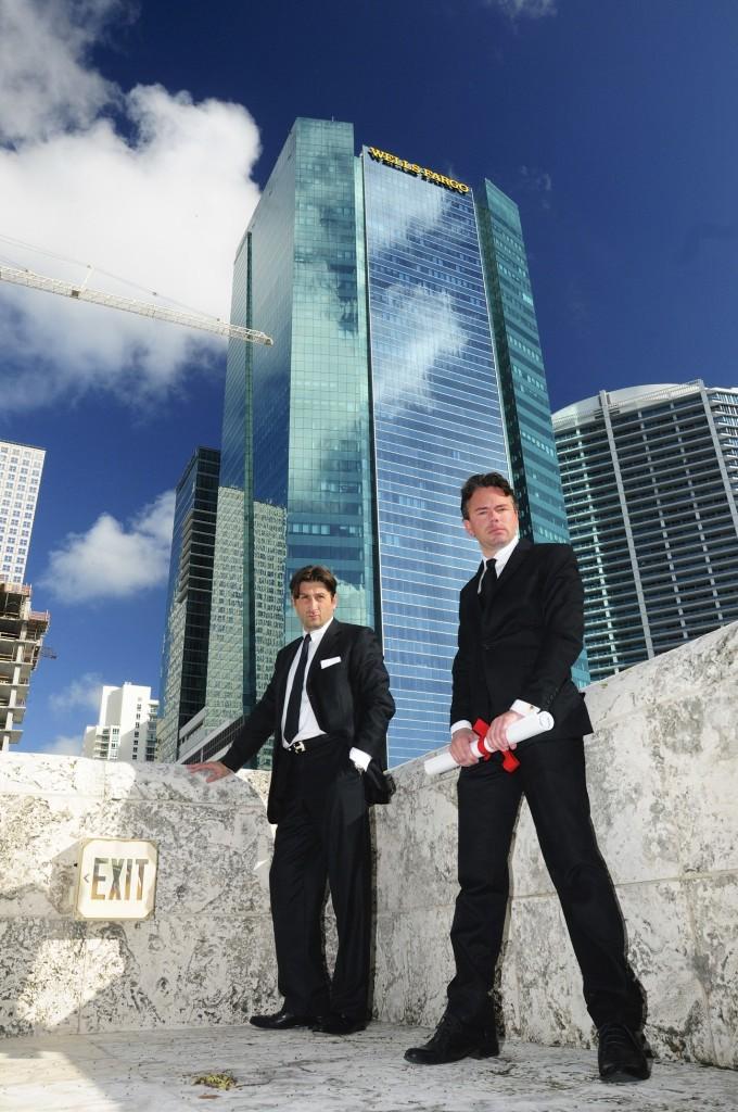 Left: CEO Guy Kurlandski & Right: Chief Innovation Officer Toby Unwin