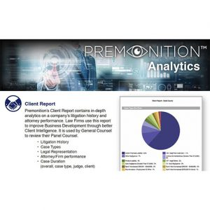 Premonition Big Data Analytics
