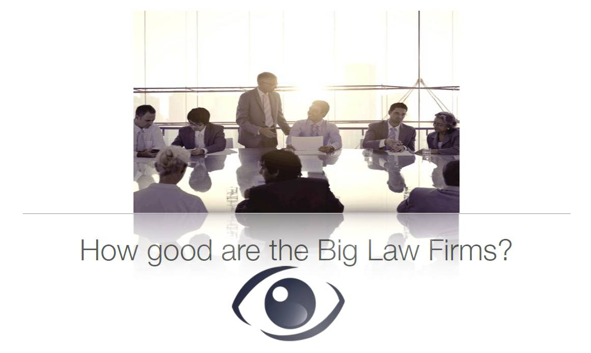 How Good Are The Big Law Firms