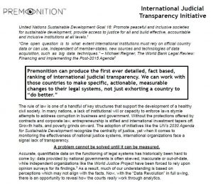 Judicial Transparency Initiative