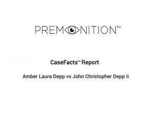 CaseFacts - Johnny Deep Divorce