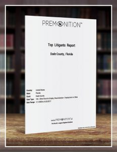 Top Litigants Report