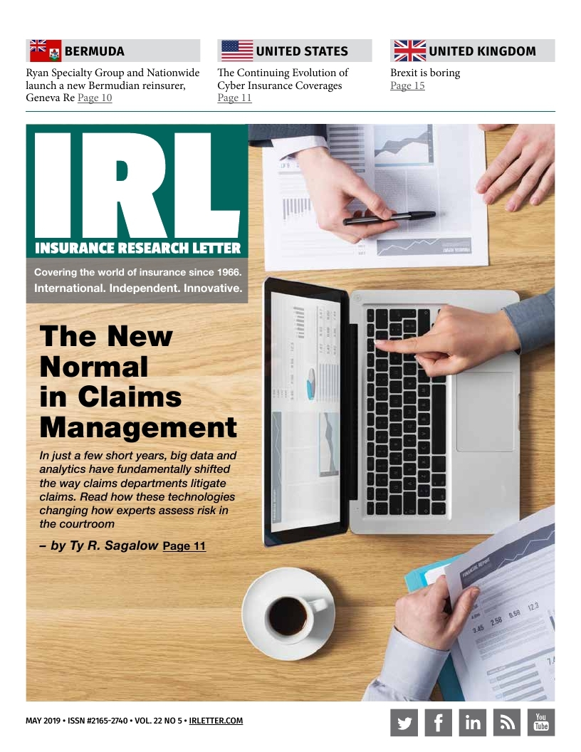 The New Normal in Claims Management - Premonition